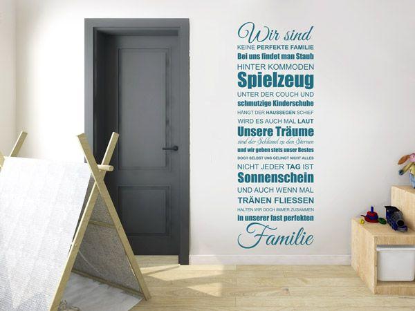 16 best Lustige Familien Wandtattoo Sprüche, Motive und Co - küchen wandtattoo sprüche