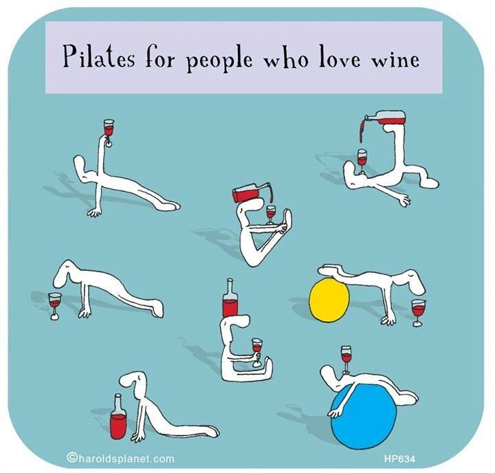 Pilates for WINE lovers.