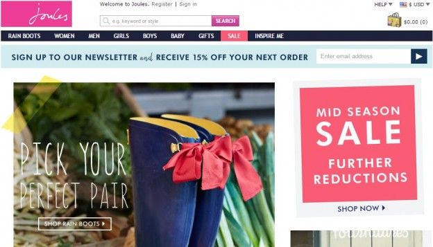 One of many advantages of utilizing coupon code on the product itself is marked down aside from the discount or sometimes free shipping. This is what online shopper choose a retailer ready to provide free shipping -- Joules discount code 2015 --- http://joulesvouchercode.com/