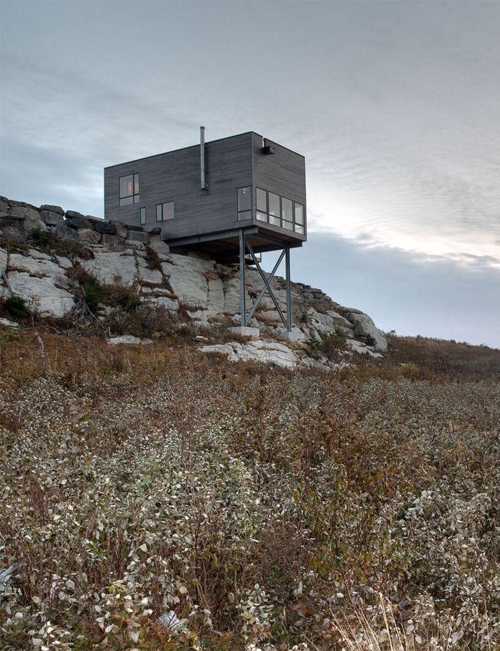 Cliff House, Nova Scotia, Canada by MacKay Lyons Sweetapple