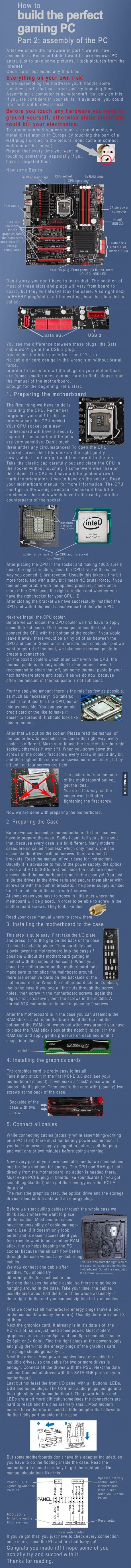 Part 2: assembly of the PC