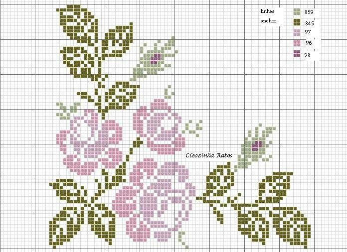 Rosas cantoneira