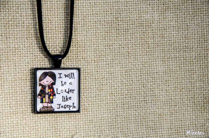 Messianic Jewelry Glass Pendants  Joseph trusted that God had a plan a future for him.