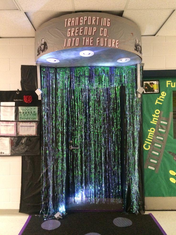 Star Trek Spirit Week- Door Decorating