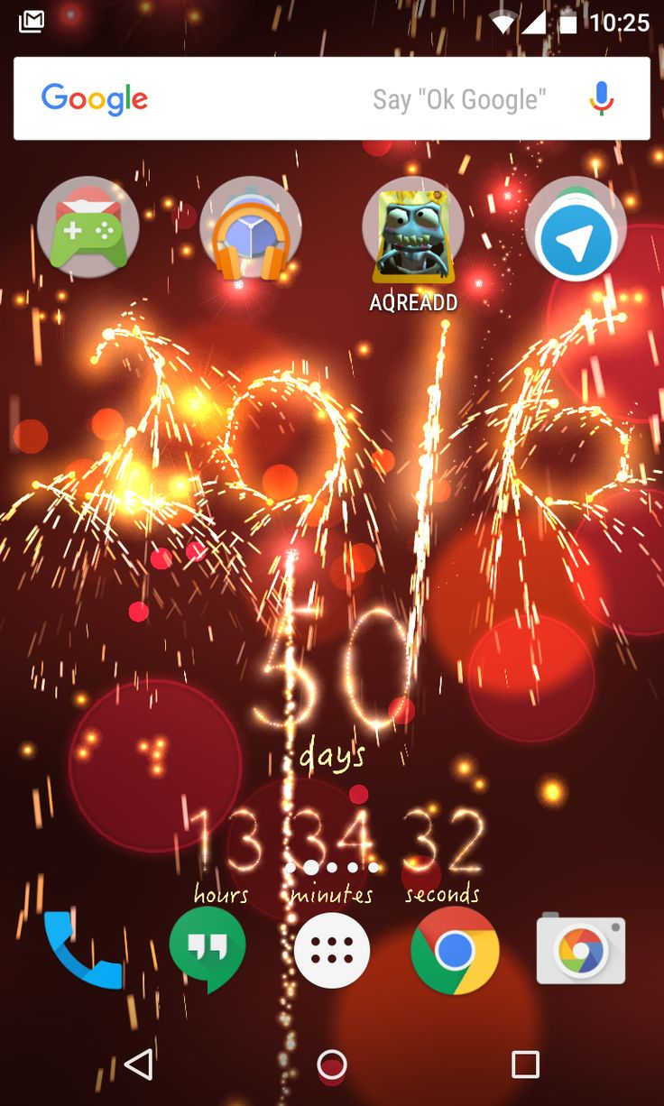 New Year Countdown 2016 live wallpaper New years