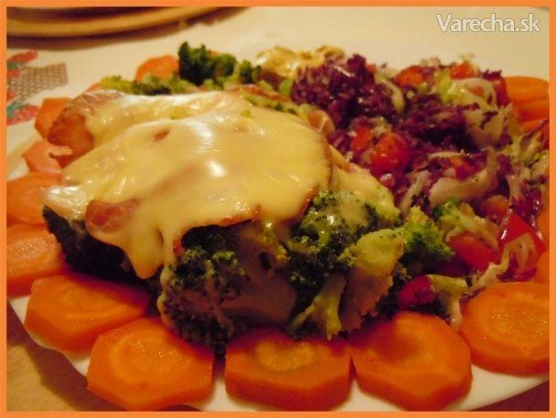 Brokolica so šunkou, syrom a s mrkvičkou