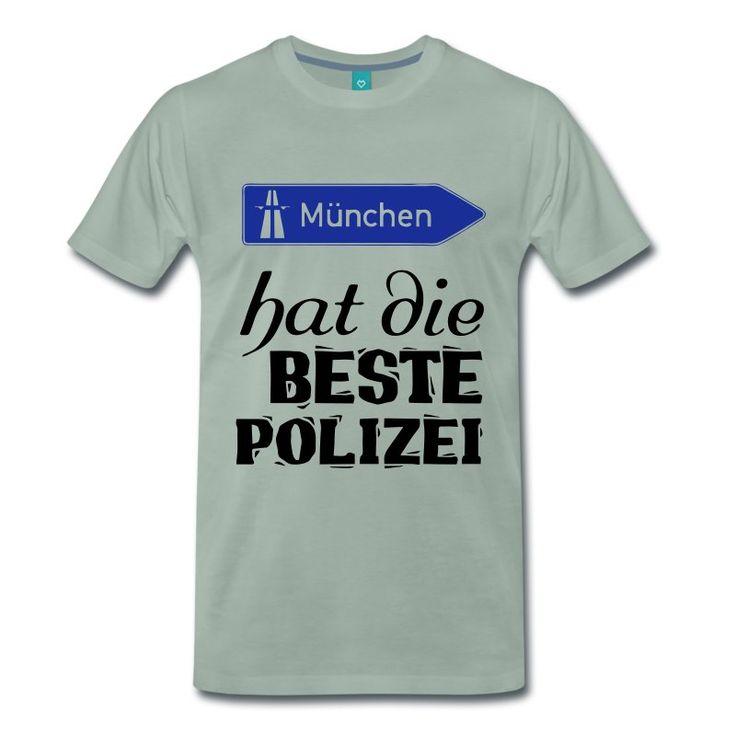 Dankeschön Shirts und Geschenke für unsere Münchner Polizisten - ihr seid die Besten!