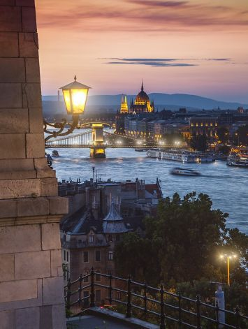 Publicly run riverboats now connect key spots throughout Budapest - a romantic, cheap alternative to pricey cruises on the Danube.  P5 Photo: Hlinkazsolt, Getty Images