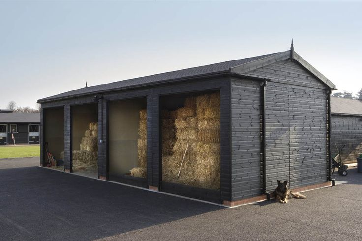 hay storage via tara tibbetts