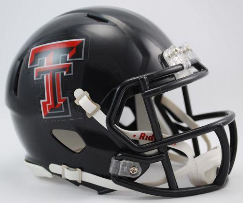 Texas Tech Red Raiders Speed Mini Helmet Z157-9585589479