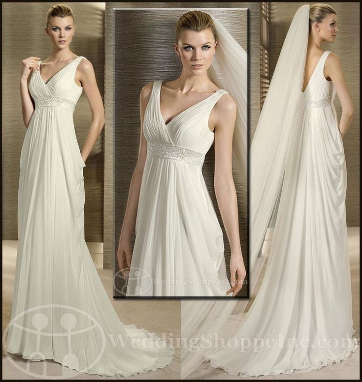 The Best Grecian Style Wedding Dresses: 17 Best Ideas About Greek Wedding Dresses On Pinterest