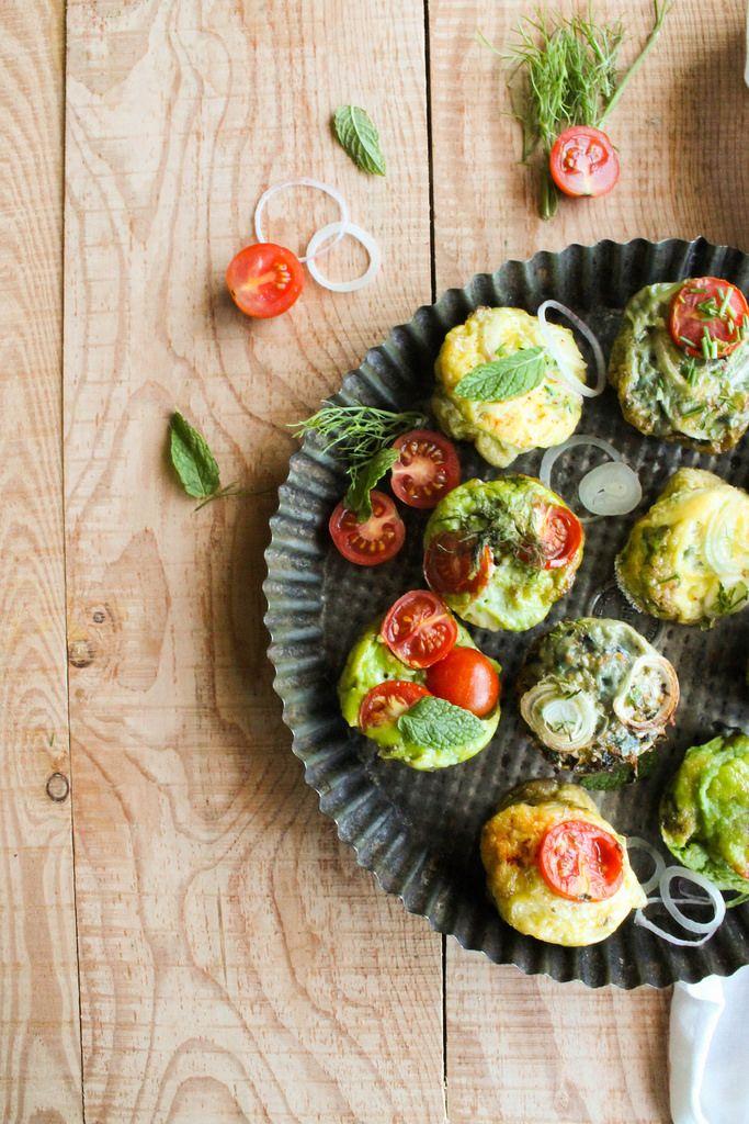 Frittata muffins aux légumes {sans gluten - sans lait} - aime & mange
