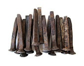 Rusty RAILROAD Spikes - Set of 3 Spikes