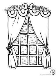 Risultati immagini per finestre natalizie disegni