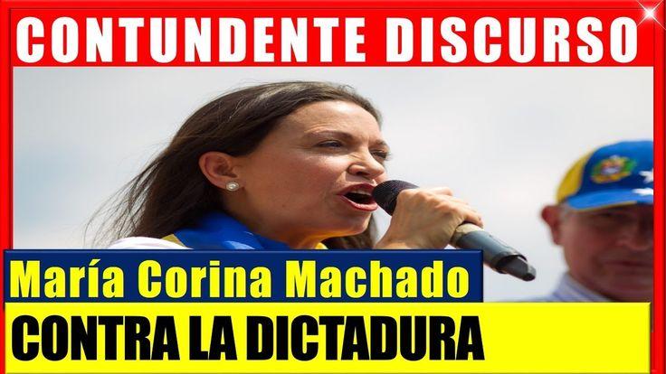 Fuerte y Contundente Discurso de Maria Corina Machado ultimas noticias de Venezuela #venezuela