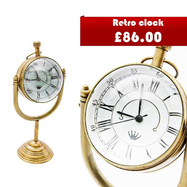 Are you looking for gift ideas? Standing clock in a retro style for sure will bring a smile on recipient face :)  http://cgi.ebay.co.uk/ws/eBayISAPI.dll?ViewItem&item=201793162453&ssPageName=STRK:MESE:IT  #retrowatch #vintage #giftidea #oldwatch #ebay #shop #sell