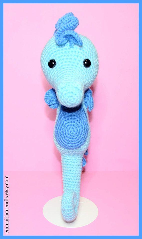 Pdf Seahorse Crochet Pattern Seahorse Amigurumi Amigurumi