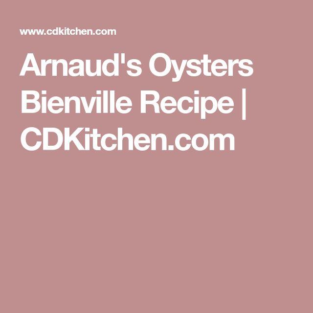 Arnaud's Oysters Bienville Recipe | CDKitchen.com