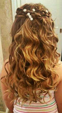 BRIDAL FLOWER GIRL Hairstyle#flowergirl#braids#orlandohairstylist