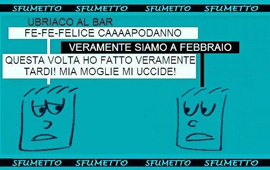 Buon anno!!  #auguri #buonanno #buon2017 #Capodanno #ridere #barzellette #vignette