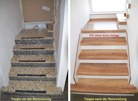 Image gallery – stair renovation