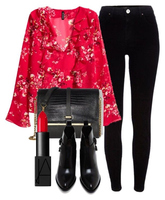 Untitled #6364 by laurenmboot on Polyvore featuring polyvore, fashion, style, River Island, Alexander Wang, Vince Camuto, NARS Cosmetics and clothing