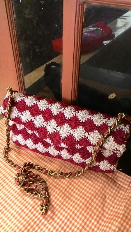 Cover bag crochet