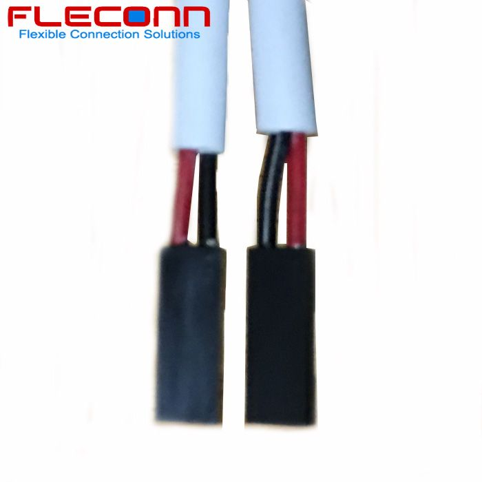 2 54 Mm Pitch 2 Pin Connector Cable Harness With Ul2517 Resisting 105 High Temperature Cable Connector Harness Pitch