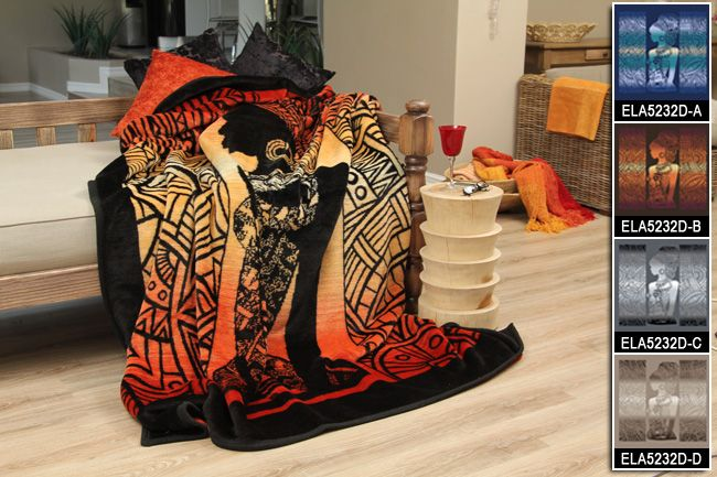 Sesli Textiles Eland Blankets Various colours to choose from