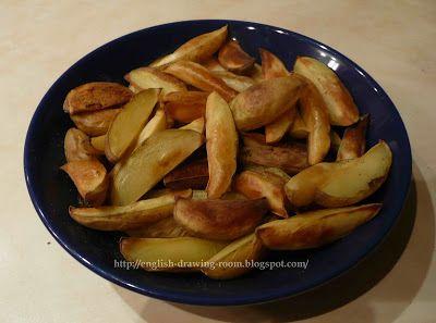 Английская гостиная: Картофель с хрустящей корочкой