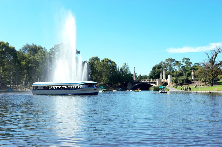 Image of School Holiday Times - Popeye on the Torrens