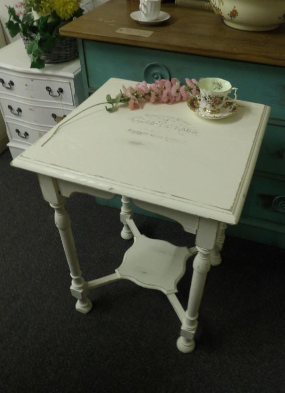 Side Table French typography £75