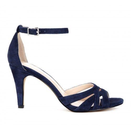 Gianna cutout sandal - Navy