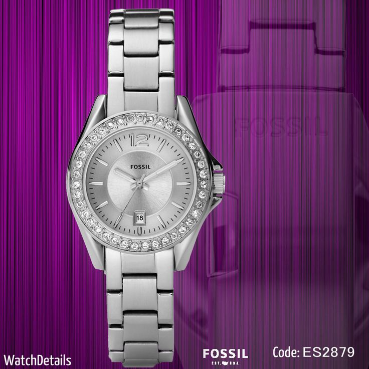 Check out Charming ladies watches Riley Mini Three-Hand ES2879 goo.gl/a40Lqb #watch #watches #fossil #style #fashion #shopping