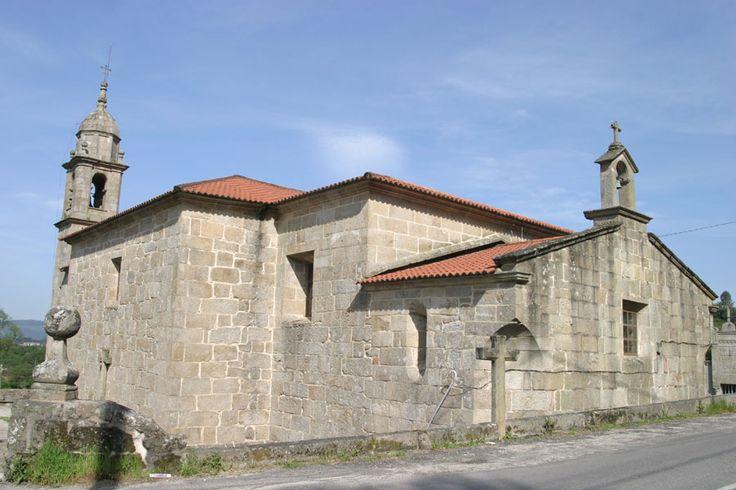 Iglesia de San Miguel, Valga, Pontevedra, Camino Portugués
