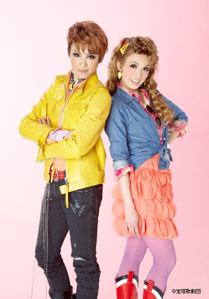 THIS DESERVES ALL CAPS    FOOTLOOSE  Starring Otozuki Kei and Maihane Mimi  July 2012  #takarazuka