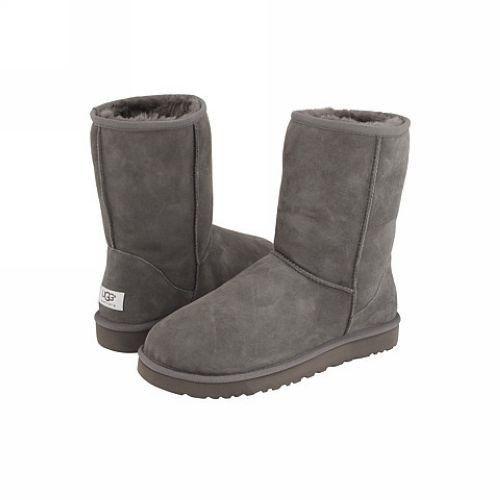 Pánske UGG klasický ovčej kožušina krátký obuv čižmy 5800 šedá