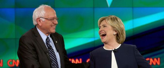 Bernie Sanders won the debate, & perhaps won the election too, when he defended Hillary Clinton during the debate. They should team up & run together !
