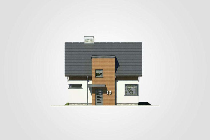 Projekt domu Polo - widok elewacji 1
