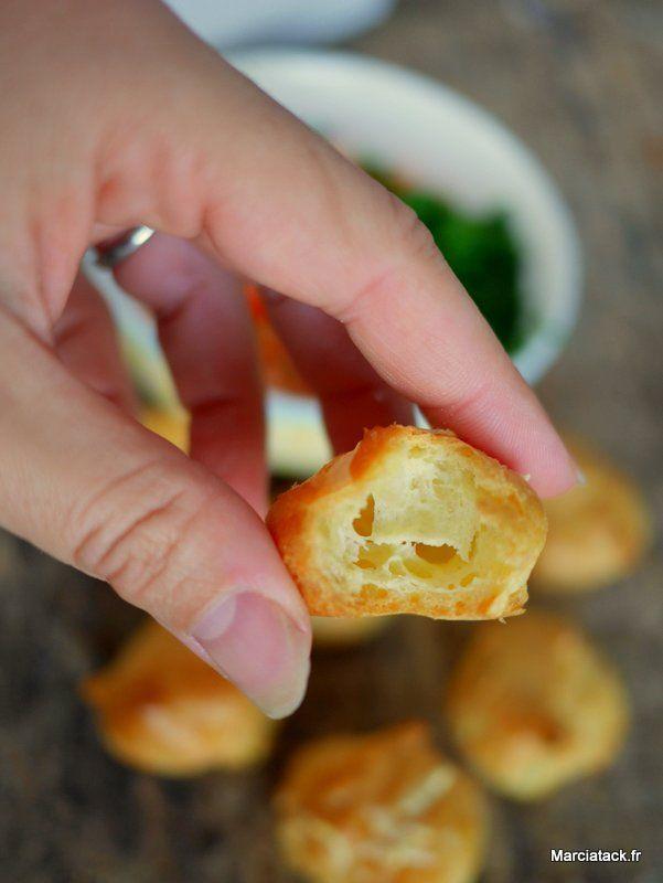 recette tupperware : pâte à choux au micro ondes pour gougère à l'emmental