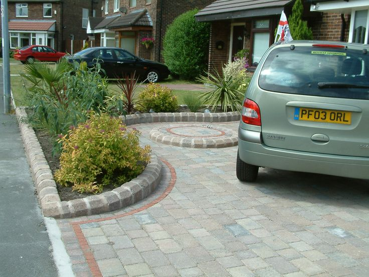 25 best Front Garden Decor Ideas images on Pinterest | Front gardens Home Parking Yard Design on parking roof design, driveway home design, stations for cars parking design,