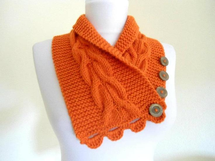 Brasil Tricô e Crochê - Handmade: Golas em tricô