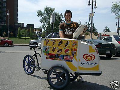 Good Humor Ice Cream Bike 2 My Dickie Dee Ice Cream