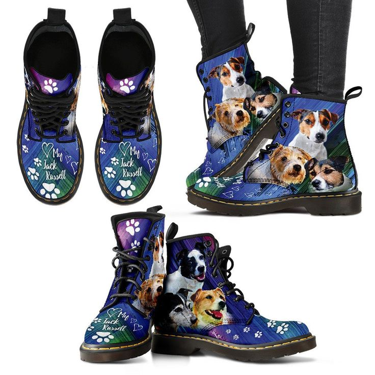 WOMENS BOOTS *Love My Jack Russell* FREE Shipping Worldwide! – My Shopn