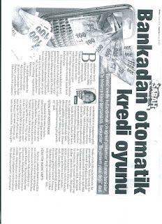 Mobbing Bank: Akbank ve Diğer Bankalar CRM Otomatik Kredi Oyunla...
