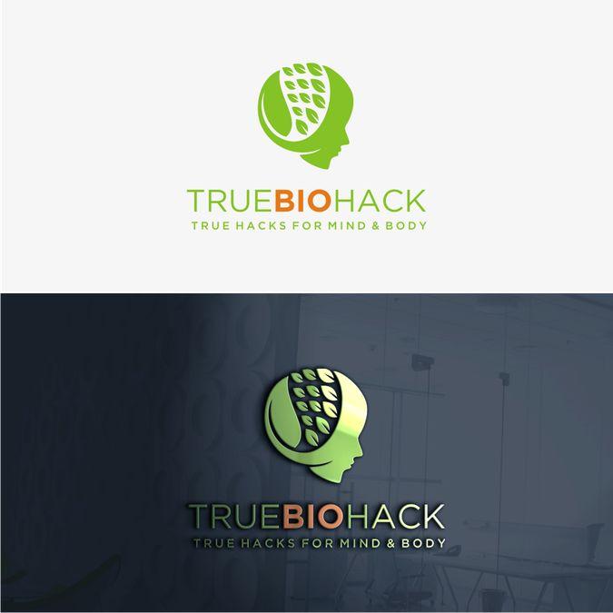 Design a logo for TrueBioHack by sholahudin