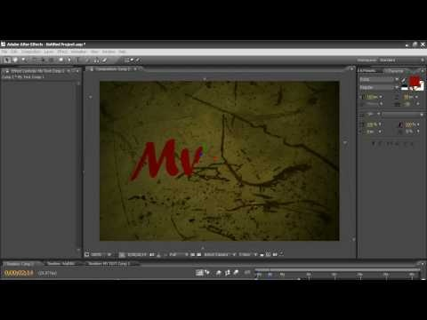 graffiti writing after effects tutorial torrent