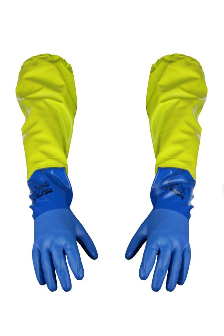 WATERPROOF ARMLETS WITH GLOVES Model: 043-1 Armlets with gloves model 043-1 are made of very resistant and strong fabric called OPALO with SHOWA Gloves. The fabric has high parametres of resistance against salt water, fats, detergents, light acids and alkalis as well as organic fluids. The apron is recommended for fishing industry to protect hands and arms. It's a good complement of front apron.