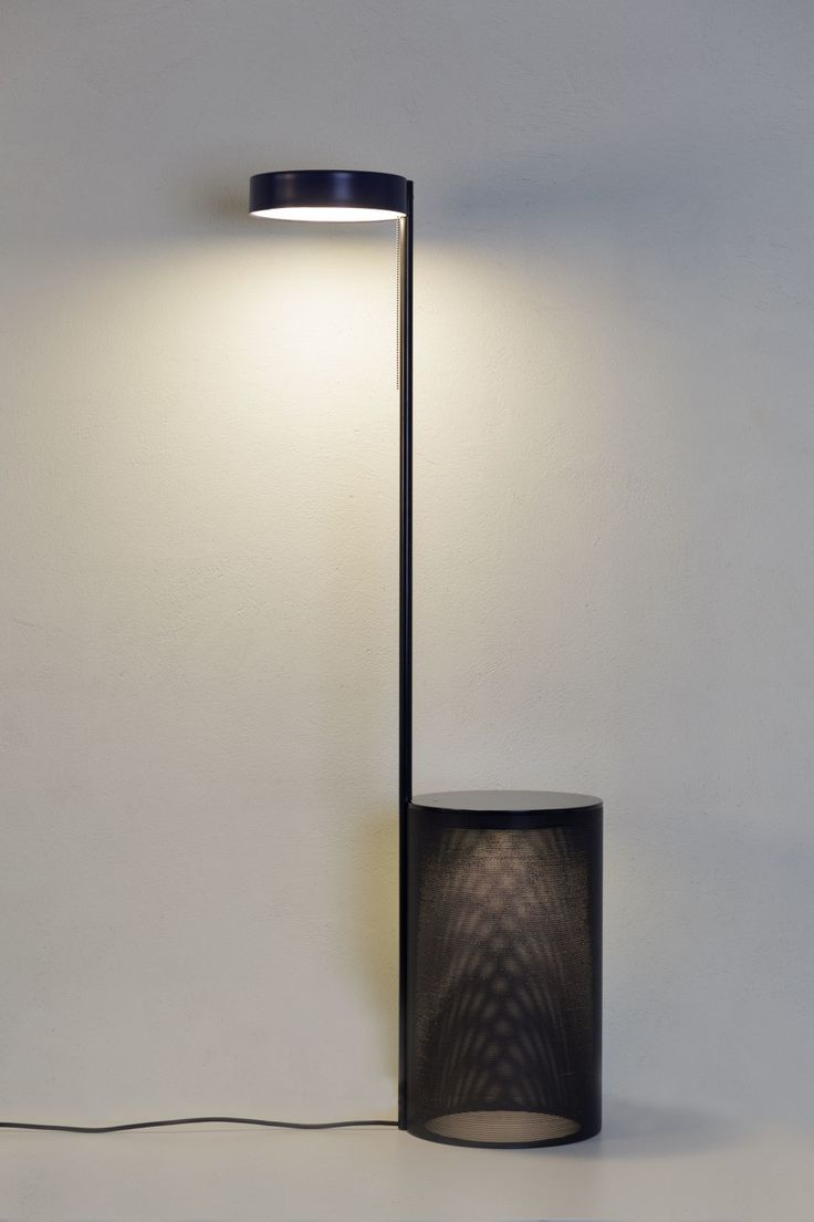 Floor lamp + table ''TWO'' by MĀJO made in Latvia on CROWDYHOUSE