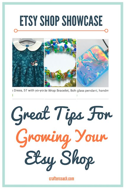 Seller Showcase: Growing Your Etsy Shop No Matter What Etsy Throws At You!